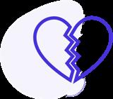 nvestigatore privato napoli infedelta - disegno cuore spezzato