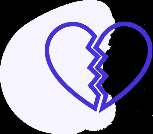 investigatore privato napoli infedelta - disegno cuore spezzato