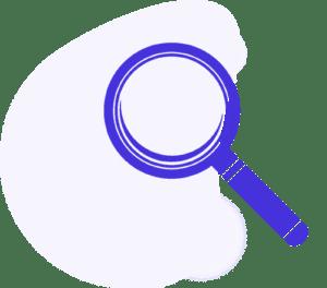 investigazioni private - immagine di una lente di ingrandimento