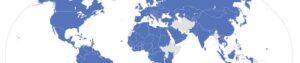 investigazioni private napoli operano in tutto il mondo - immagine plenisfero